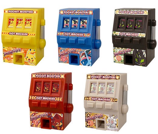 POKEMON MINI SLOT MACHINE