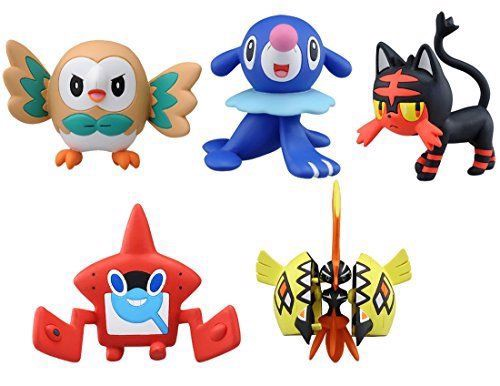 Pokemon MonColle EX Tabidachi Set Pokemon Figure