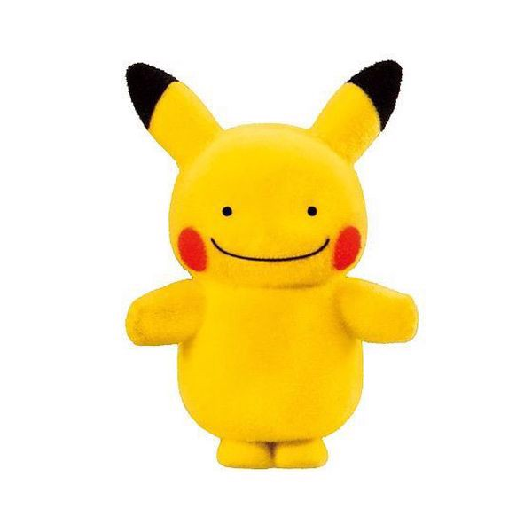 Pokemon Poke-mofu Doll Ditto Pikachu