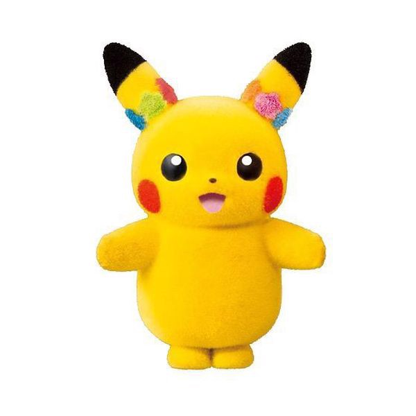 Pokemon Poke-mofu Doll Pikachu Female