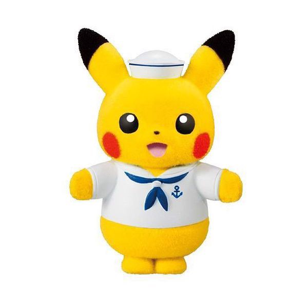 Pokemon Poke-mofu Doll Sailor Pikachu
