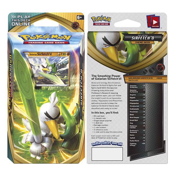 pokemon shop bán bài Pokemon Galarian Sirfetchd Theme Deck
