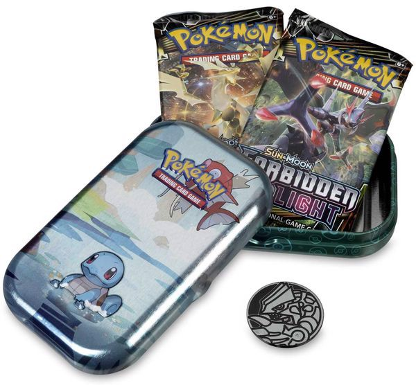 pokemon shop bán bài Pokemon Kanto Friends Mini Tin Squirtle