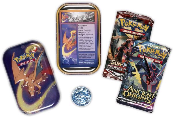 pokemon shop bán bài Pokemon Kanto Power Mini Tin Charizard