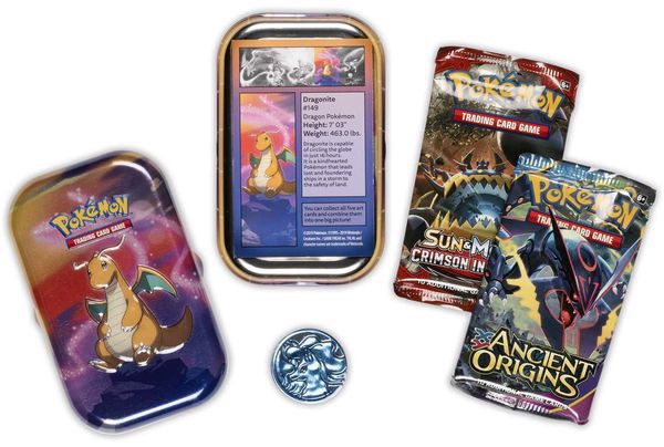 pokemon shop bán bài Pokemon Kanto Power Mini Tin Dragonite