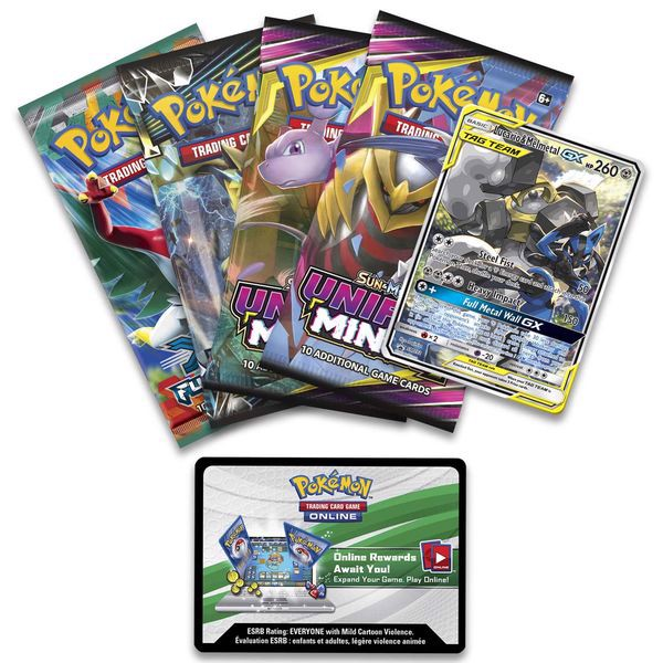 pokemon shop bán bài Pokemon Lucario Melmetal-GX Power Partnership Tin