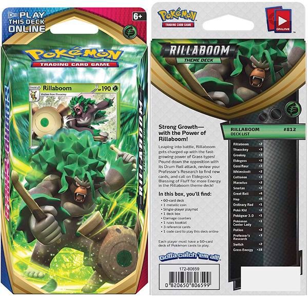 pokemon shop bán bài Pokemon Rillaboom Theme Deck