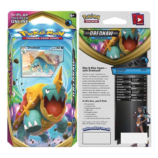 pokemon shop bán bài Pokemon Vivid Voltage Drednaw Theme Deck