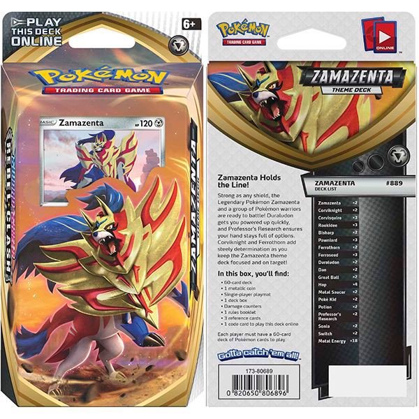 pokemon shop bán bài Pokemon Zamazenta Theme Deck