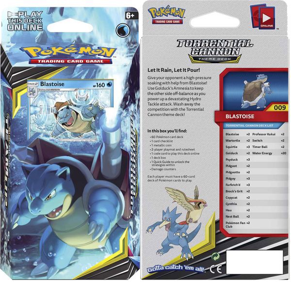 pokemon shop bán bộ bài pokemon Torrential Cannon Theme Deck