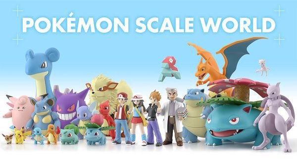 pokemon shop bán figure Pokemon Scale World Kanto