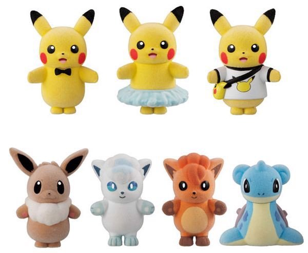 pokemon shop bán Pokemon Poke-mofu Doll 4