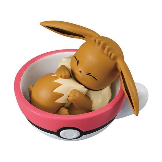 Pokemon Tea Cup Time Mascot 5 Eevee