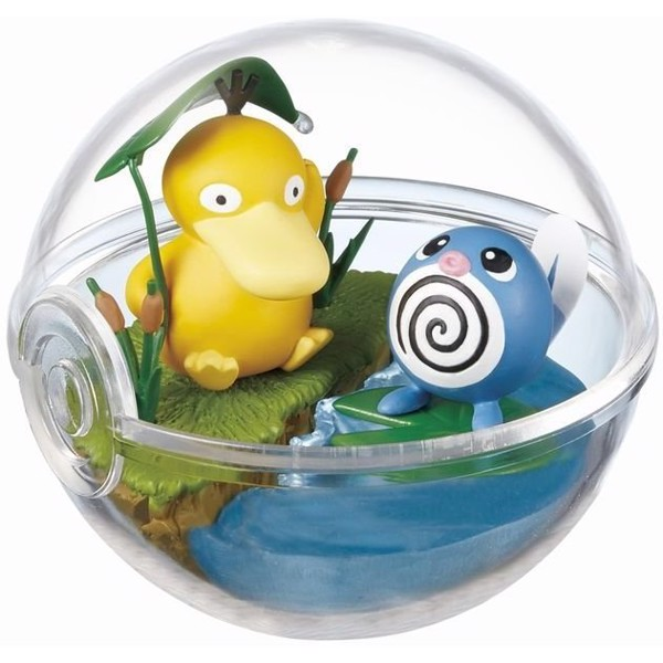 Pokemon Terrarium Collection 2 Psyduck Poliwag