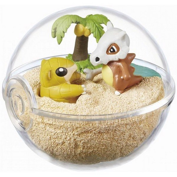 Pokemon Terrarium Collection 2  Sandshrew  Cubone