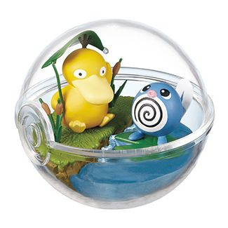 Pokemon Terrarium Collection 2 Psyduck & Poliwag