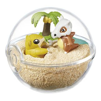 Pokemon Terrarium Collection 2 Sandshrew & Cubone