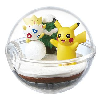 Pokemon Terrarium Collection 2 Togepi & Pikachu