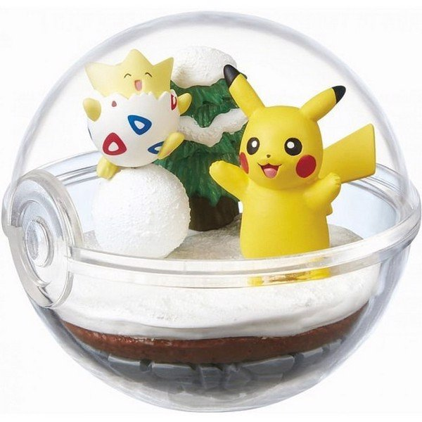 Pokemon Terrarium Collection 2 Togepi Pikachu
