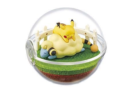 Figure Pokemon Terrarium Collection 4 Mareep Pikachu Merriep chính hãng