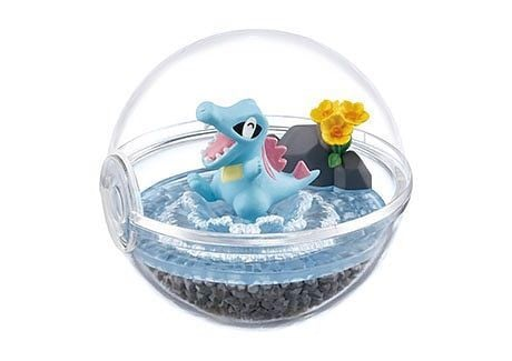 Figure Pokemon Terrarium Collection 4 Totodile Waninoko chính hãng Re-ment