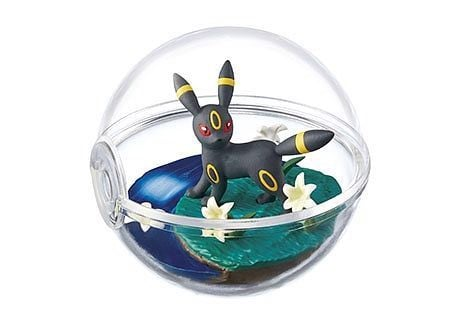 Figure Pokemon Terrarium Collection 4 Umbreon Blacky chính hãng Re-Ment
