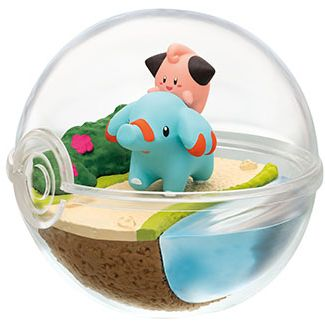 Pokemon Terrarium Collection 7 Cleffa & Phanpy