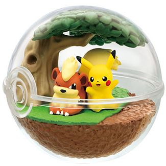 Pokemon Terrarium Collection 7 Pikachu & Growlithe