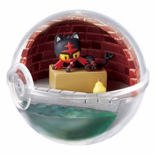 Pokemon Terrarium Collection EX Alola Litten Nyabby