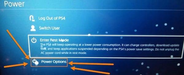 tắt máy PS4 đi