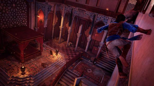 Prince of Persia The Sands of Time Remake đồ họa xấu