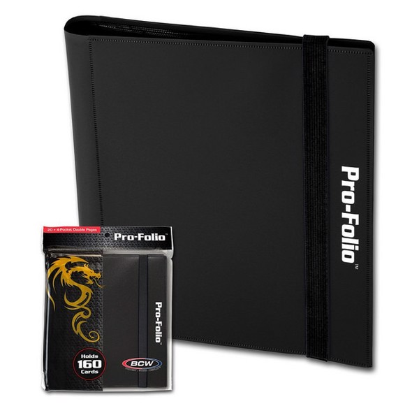 PRO FOLIO 4 POCKET BLACK