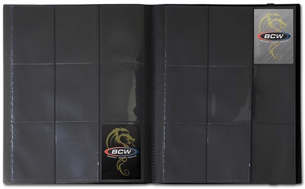 PRO FOLIO 9 POCKET BLACK