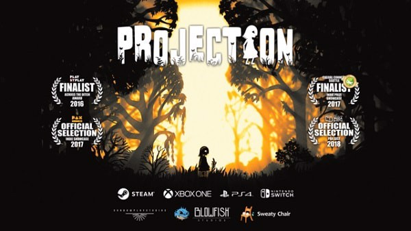 Projection First Light nintendo switch