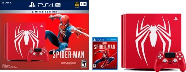 ps4 limited  Spider Man