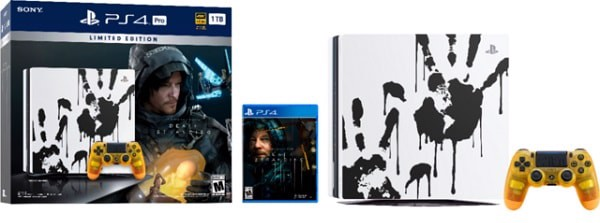 PS4 Pro Limited Edition Death Stranding