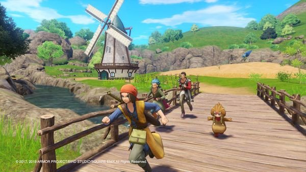cửa hàng bán game Dragon Quest XI S Echoes of an Elusive Age Definitive Edition Nintendo Switch