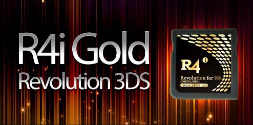 R4i Gold DSN for Nintendo 2DS and 3DS