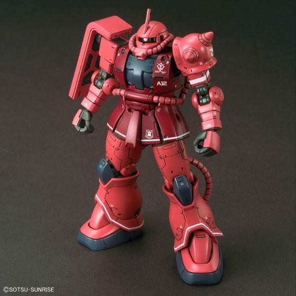 Zaku II Principality of ZEON Char Aznable Mobile Suits Red Comet Ver chính hãng Bandai Gundam Store VN