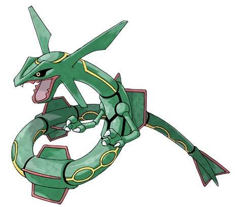 Rayquaza pokemon