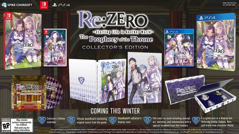 Re Zero Starting Life in Another World The Prophecy of the Throne