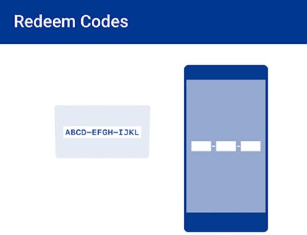redeem code psn trên app