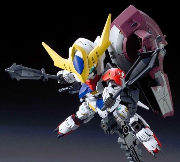review Gundam Barbatos Lupus DX SD