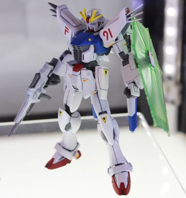 review Gundam F91 HGUC