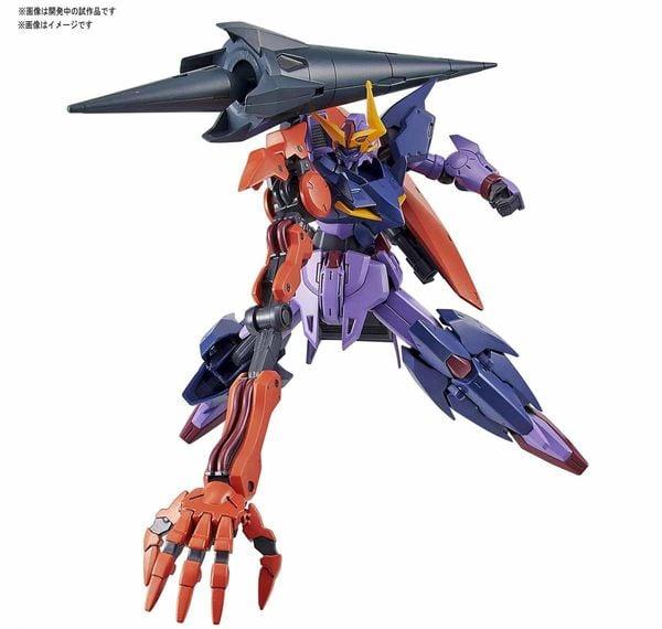 review Gundam Seltsam HGBDR gunpla