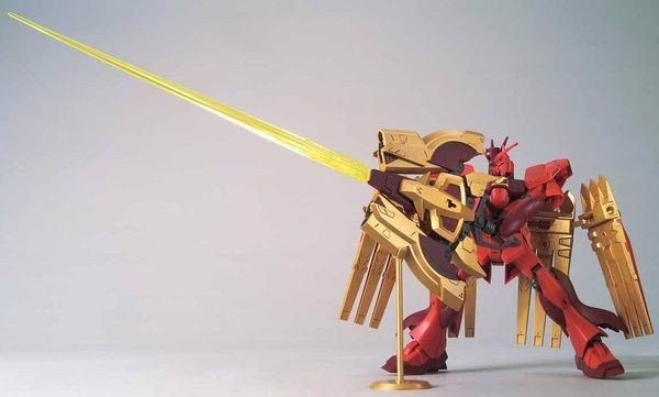 review Nu-Zeon Gundam HGBDR