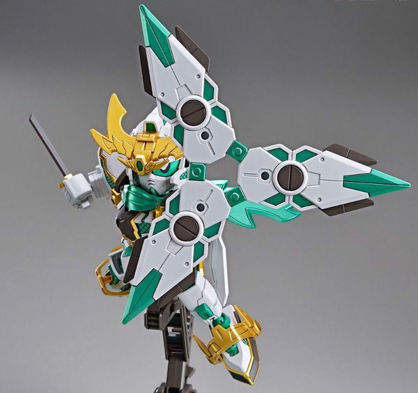 review RX-Zeromaru Shinkikessho SDBD gundam
