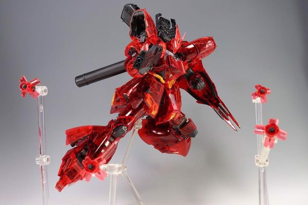 review Sazabi Clear Color RG gundam