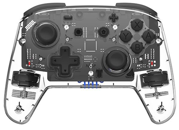 review Tay cầm Pro Controller trong suốt IINE PMW Nintendo Switch