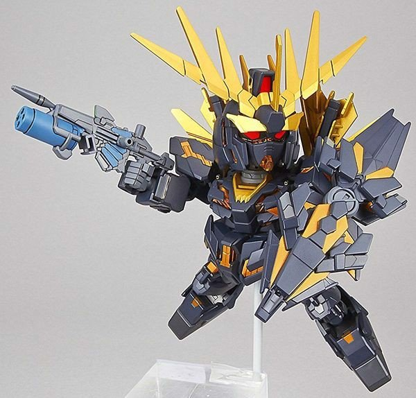 review Unicorn Gundam 02 Banshee Norn Destroy SD EX Standard